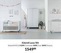 Aanbiedingen Kidsmill lasse wit - Kidsmill - Geldig van 21/09/2021 tot 18/10/2021 bij Babypark