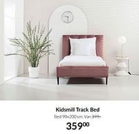 Aanbiedingen Kidsmill track bed - Kidsmill - Geldig van 21/09/2021 tot 18/10/2021 bij Babypark