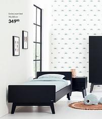 Aanbiedingen Sixties zwart bed - Sixties - Geldig van 21/09/2021 tot 18/10/2021 bij Babypark