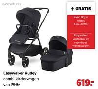 Aanbiedingen Easywalker easywalker rudey combi-kinderwagen - Easywalker - Geldig van 27/09/2021 tot 23/10/2021 bij Baby-Dump