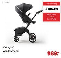 Aanbiedingen Stokke xplory x wandelwagen - Stokke - Geldig van 27/09/2021 tot 23/10/2021 bij Baby-Dump