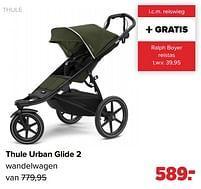 Aanbiedingen Thule thule urban glide 2 wandelwagen - Thule - Geldig van 27/09/2021 tot 23/10/2021 bij Baby-Dump