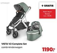 Aanbiedingen Uppababy vista v2 complete set combi-kinderwagen - Uppababy - Geldig van 27/09/2021 tot 23/10/2021 bij Baby-Dump