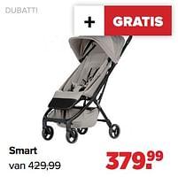 Aanbiedingen Dubatti smart - Dubatti - Geldig van 27/09/2021 tot 23/10/2021 bij Baby-Dump