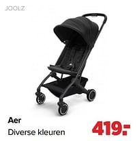 Aanbiedingen Joolz aer - Joolz - Geldig van 27/09/2021 tot 23/10/2021 bij Baby-Dump
