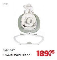 Aanbiedingen Joie serina swivel wild island - Joie - Geldig van 27/09/2021 tot 23/10/2021 bij Baby-Dump