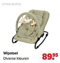 Aanbiedingen Little dutch wipstoel - Little Dutch - Geldig van 27/09/2021 tot 23/10/2021 bij Baby-Dump
