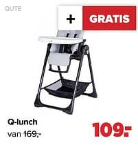 Aanbiedingen Qute q-lunch - Qute - Geldig van 27/09/2021 tot 23/10/2021 bij Baby-Dump