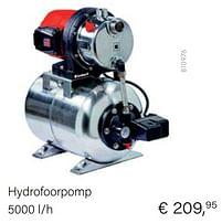 Aanbiedingen Einhell hydrofoorpomp - Einhell - Geldig van 04/10/2021 tot 16/11/2021 bij Multi Bazar