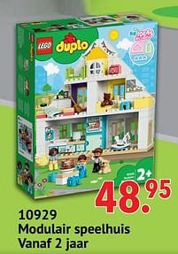 Aanbiedingen 10929 modulair speelhuis - Lego - Geldig van 11/10/2021 tot 06/12/2021 bij Multi Bazar
