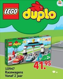 Aanbiedingen 10947 racewagens - Lego - Geldig van 11/10/2021 tot 06/12/2021 bij Multi Bazar
