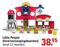 Aanbiedingen Little people dierenverzorgingsboerderij - Fisher-Price - Geldig van 11/10/2021 tot 06/12/2021 bij Multi Bazar