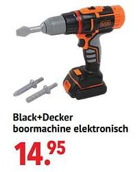 Aanbiedingen Black+decker boormachine elektronisch - Smoby - Geldig van 11/10/2021 tot 06/12/2021 bij Multi Bazar