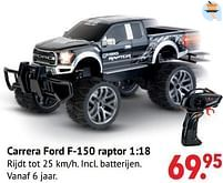 Aanbiedingen Carrera ford f-150 raptor - Carrera - Geldig van 11/10/2021 tot 06/12/2021 bij Multi Bazar