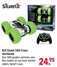 Aanbiedingen R-c exost 360 cross stuntauto - Silverlit - Geldig van 11/10/2021 tot 06/12/2021 bij Multi Bazar