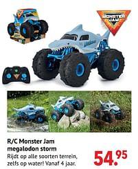 Aanbiedingen R-c monster jam megalodon storm - Monster Jam - Geldig van 11/10/2021 tot 06/12/2021 bij Multi Bazar