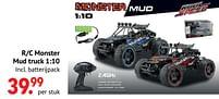 Aanbiedingen R-c monster mud truck - Kool Speed - Geldig van 11/10/2021 tot 06/12/2021 bij Multi Bazar