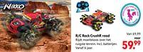 Aanbiedingen R-c rock crushr rood - Huismerk - Multi Bazar - Geldig van 11/10/2021 tot 06/12/2021 bij Multi Bazar