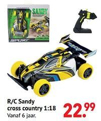 Aanbiedingen R-c sandy cross country - Huismerk - Multi Bazar - Geldig van 11/10/2021 tot 06/12/2021 bij Multi Bazar