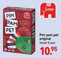 Aanbiedingen Pim pam pet original - Jumbo - Geldig van 11/10/2021 tot 06/12/2021 bij Multi Bazar