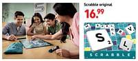 Aanbiedingen Scrabble original - Mattel - Geldig van 11/10/2021 tot 06/12/2021 bij Multi Bazar