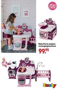 Aanbiedingen Baby nurse poppen verzorgingscentrum - Smoby - Geldig van 11/10/2021 tot 06/12/2021 bij Multi Bazar