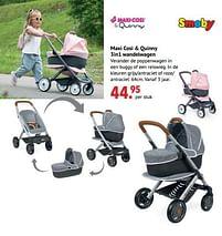 Aanbiedingen Maxi cosi + quinny 3in1 wandelwagen - Smoby - Geldig van 11/10/2021 tot 06/12/2021 bij Multi Bazar