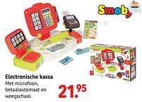 Aanbiedingen Electronische kassa - Smoby - Geldig van 11/10/2021 tot 06/12/2021 bij Multi Bazar