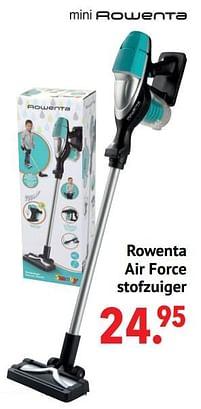 Aanbiedingen Rowenta air force stofzuiger - Smoby - Geldig van 11/10/2021 tot 06/12/2021 bij Multi Bazar