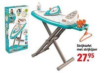 Aanbiedingen Strijktafel met strijkijzer - Smoby - Geldig van 11/10/2021 tot 06/12/2021 bij Multi Bazar
