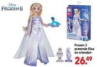 Aanbiedingen Frozen 2 pratende elsa en vrienden - Hasbro - Geldig van 11/10/2021 tot 06/12/2021 bij Multi Bazar