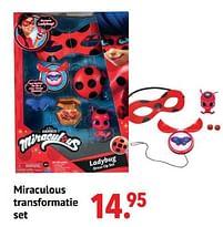 Aanbiedingen Miraculous transformatie set - Miraculous - Geldig van 11/10/2021 tot 06/12/2021 bij Multi Bazar