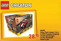 Aanbiedingen 66683 value pack creator 3-in-1 - Lego - Geldig van 11/10/2021 tot 06/12/2021 bij Multi Bazar