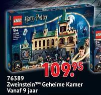 Aanbiedingen 76389 zweinstein geheime kamer - Lego - Geldig van 11/10/2021 tot 06/12/2021 bij Multi Bazar