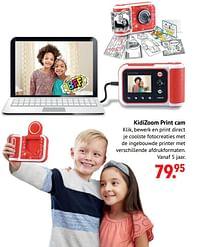 Aanbiedingen Vtech kidizoom print cam - Vtech - Geldig van 11/10/2021 tot 06/12/2021 bij Multi Bazar