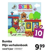 Aanbiedingen Bumba mijn verhalenboek - Studio 100 - Geldig van 02/10/2021 tot 05/12/2021 bij Intertoys