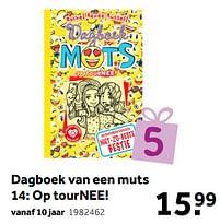 Aanbiedingen Dagboek van een muts 14: op tournee! - Huismerk - Intertoys - Geldig van 02/10/2021 tot 05/12/2021 bij Intertoys