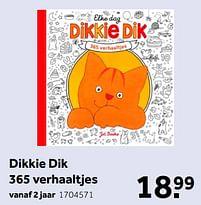 Aanbiedingen Dikkie dik 365 verhaaltjes - Huismerk - Intertoys - Geldig van 02/10/2021 tot 05/12/2021 bij Intertoys