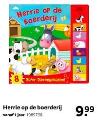 Aanbiedingen Herrie op de boerderij - Huismerk - Intertoys - Geldig van 02/10/2021 tot 05/12/2021 bij Intertoys