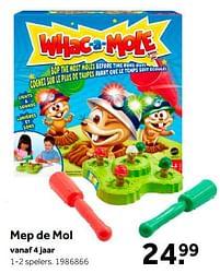 Aanbiedingen Mep de mol - Mattel - Geldig van 02/10/2021 tot 05/12/2021 bij Intertoys