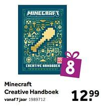 Aanbiedingen Minecraft creative handboek - Huismerk - Intertoys - Geldig van 02/10/2021 tot 05/12/2021 bij Intertoys