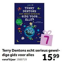 Aanbiedingen Terry dentons echt serieus geweldige gids voor alles - Huismerk - Intertoys - Geldig van 02/10/2021 tot 05/12/2021 bij Intertoys