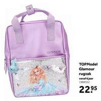 Aanbiedingen Topmodel glamour rugzak - Top Model - Geldig van 02/10/2021 tot 05/12/2021 bij Intertoys