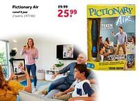 Aanbiedingen Pictionary air - Mattel - Geldig van 02/10/2021 tot 05/12/2021 bij Intertoys