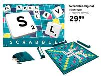 Aanbiedingen Scrabble original - Mattel - Geldig van 02/10/2021 tot 05/12/2021 bij Intertoys