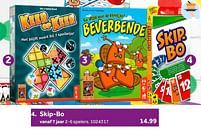 Aanbiedingen Skip-bo - Mattel - Geldig van 02/10/2021 tot 05/12/2021 bij Intertoys