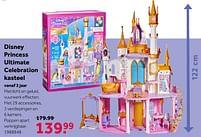 Aanbiedingen Disney princess ultimate celebration kasteel - Disney Princess - Geldig van 02/10/2021 tot 05/12/2021 bij Intertoys