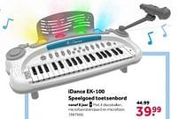 Aanbiedingen Idance ek-100 speelgoed toetsenbord - I Dance - Geldig van 02/10/2021 tot 05/12/2021 bij Intertoys