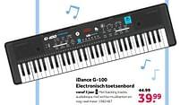 Aanbiedingen Idance g-100 electronisch toetsenbord - I Dance - Geldig van 02/10/2021 tot 05/12/2021 bij Intertoys