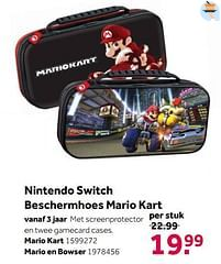 Aanbiedingen Nintendo switch beschermhoes mario kart - Nintendo - Geldig van 02/10/2021 tot 05/12/2021 bij Intertoys